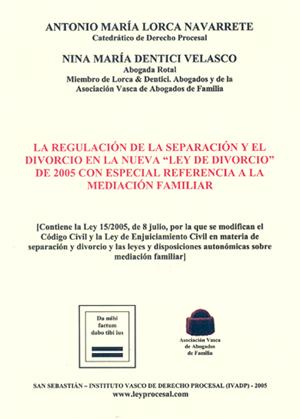Libro Ley de divorcio