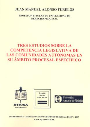 Tres Estudios comp. legis