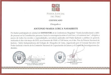 Modelo de certificado domiciliario peru 2014