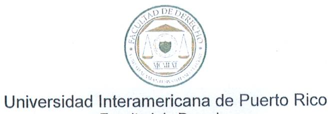 CURSO SOBRE LA LEY MODELO UNCITRAL/CNUDMI DE ARBITRAJE COMERCIAL INTERNACIONAL DE NACIONES UNIDAS EN LA FACULTAD DE DERECHO DE LA UNIVERSIDAD INTERAMERICANA DE PUERTO RICO