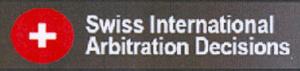 ARBITRAJE DEPORTIVO. IMPORTANTE COMUNICADO RELATIVO A LA SWISS INTERNATIONAL ARBITRATION DECISIONS
